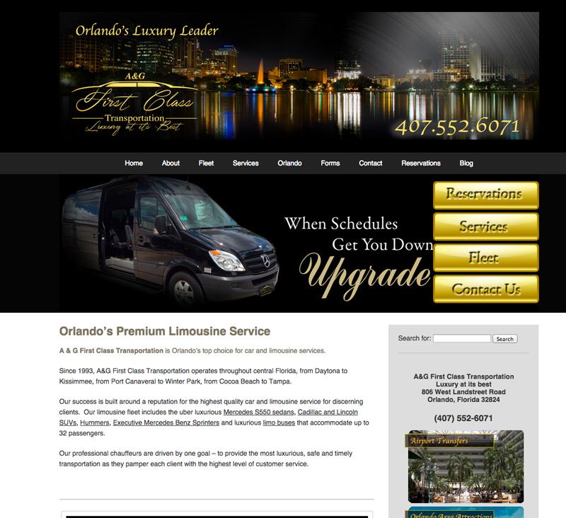 A&G First Class Transportation, Orlando, FL