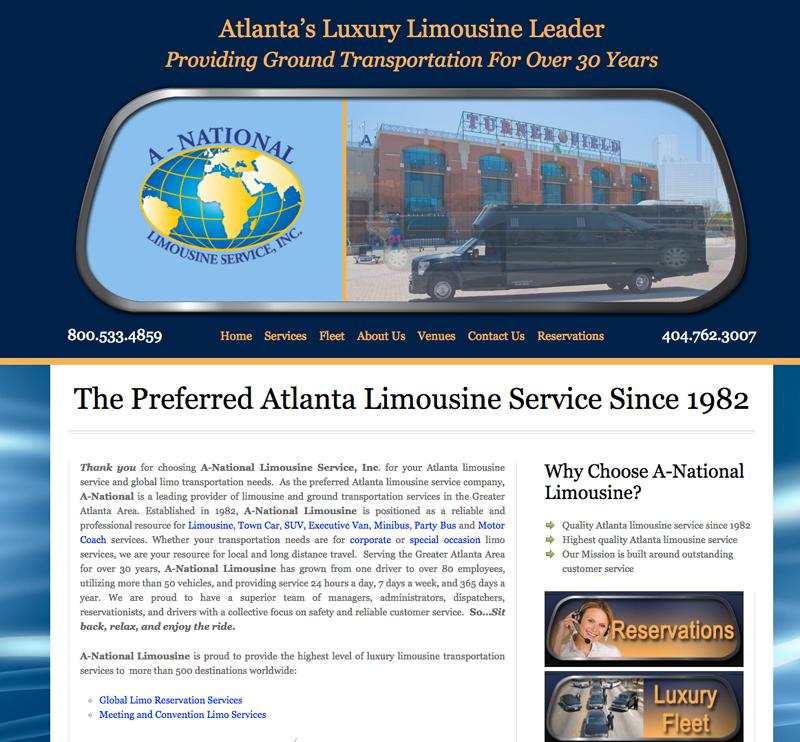 a national limousine service