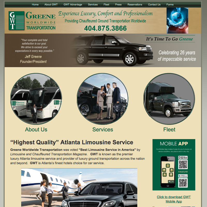 Greene Worldwide Transportation