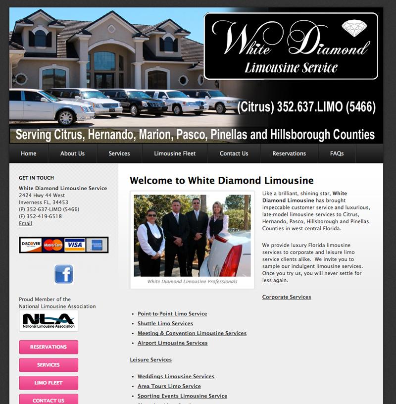 White Diamond Limousine Service, Inverness, FL